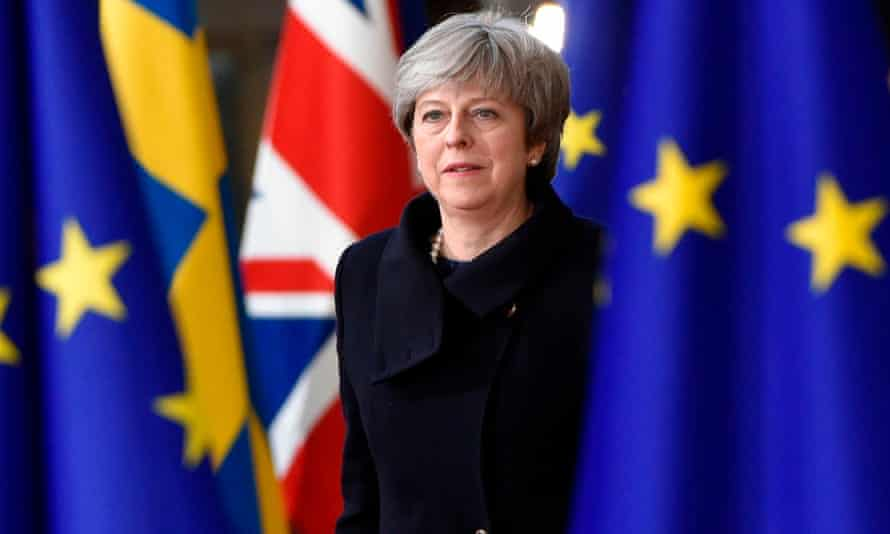 The clarification about May's position came on the eve of a visit to Downing Street by the EU's chief negotiator.