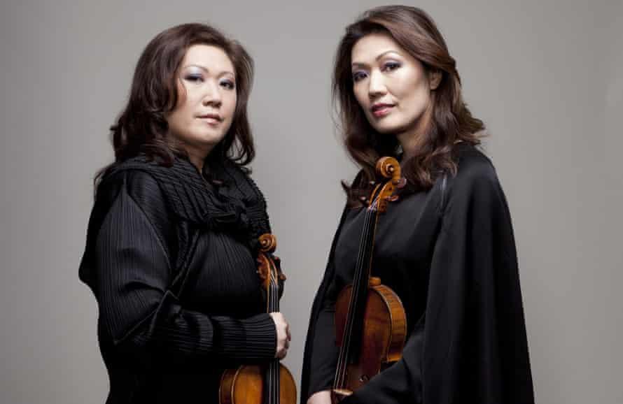 Angela and Jennifer Chun.