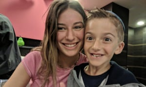 Olivia (who goes to Yavneh Girls, The King David High School) and her brother Yoni Zemmel.