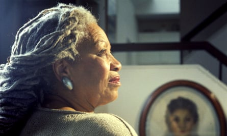 Toni Morrison photographed in her New York apartment in 2004.
