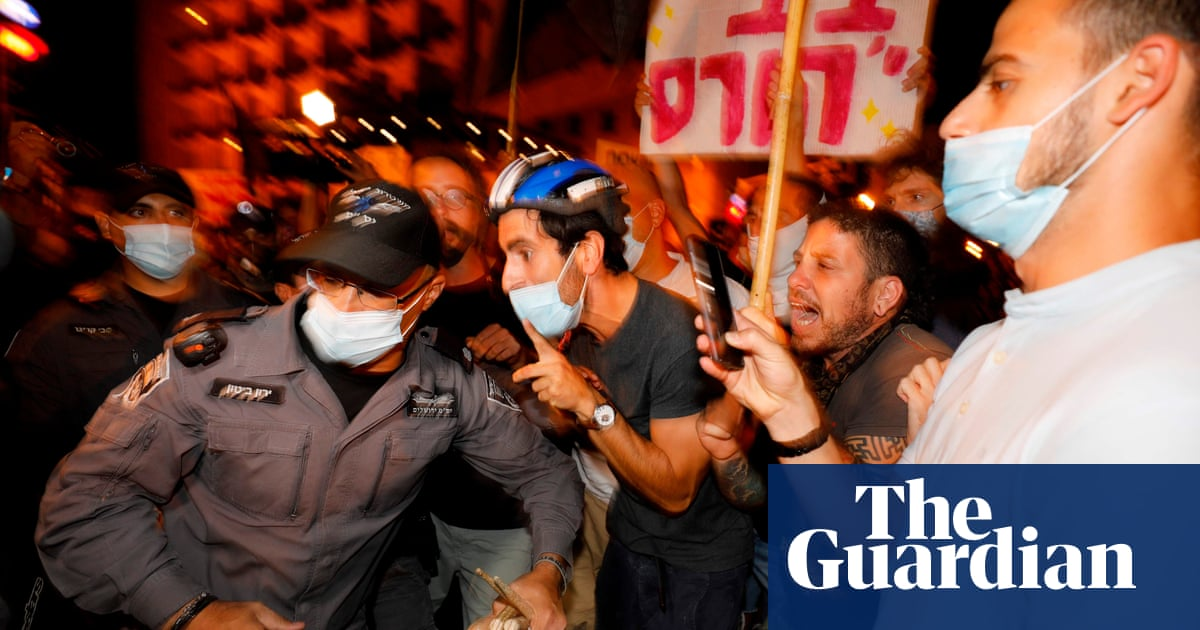 Thousands demonstrate against Netanyahu as Israel protests gain strength – The Guardian