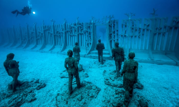 Museum of underwater art to open on Australia's Great Barrier Reef |  Australia holidays | The Guardian