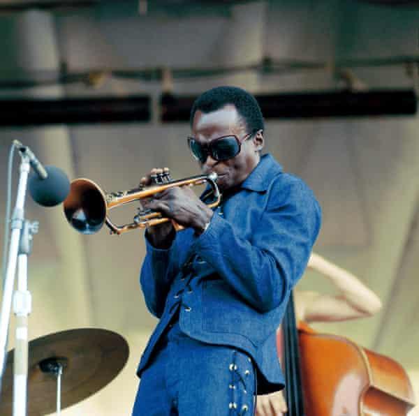 Miles Davis returning to Newport Jazz festival in 1969.