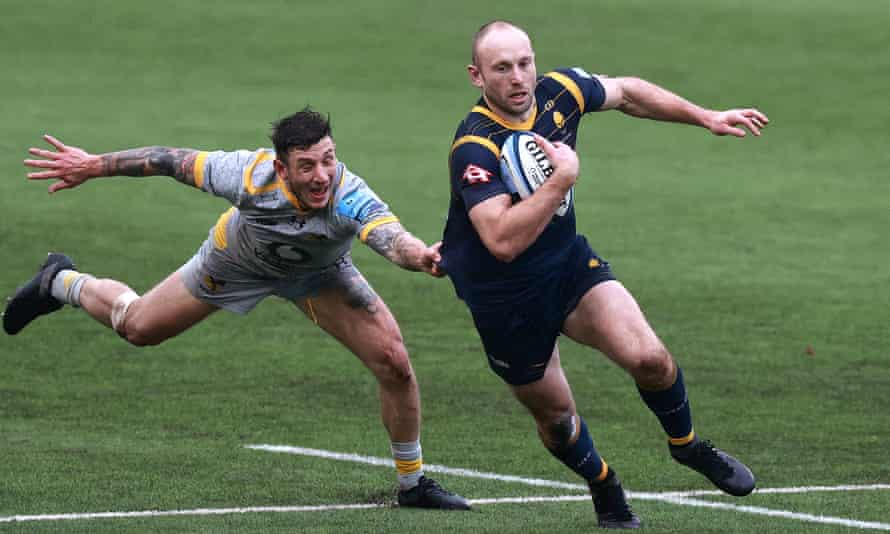 Chris Pennell has just called time on a 14-year stint at Worcester.