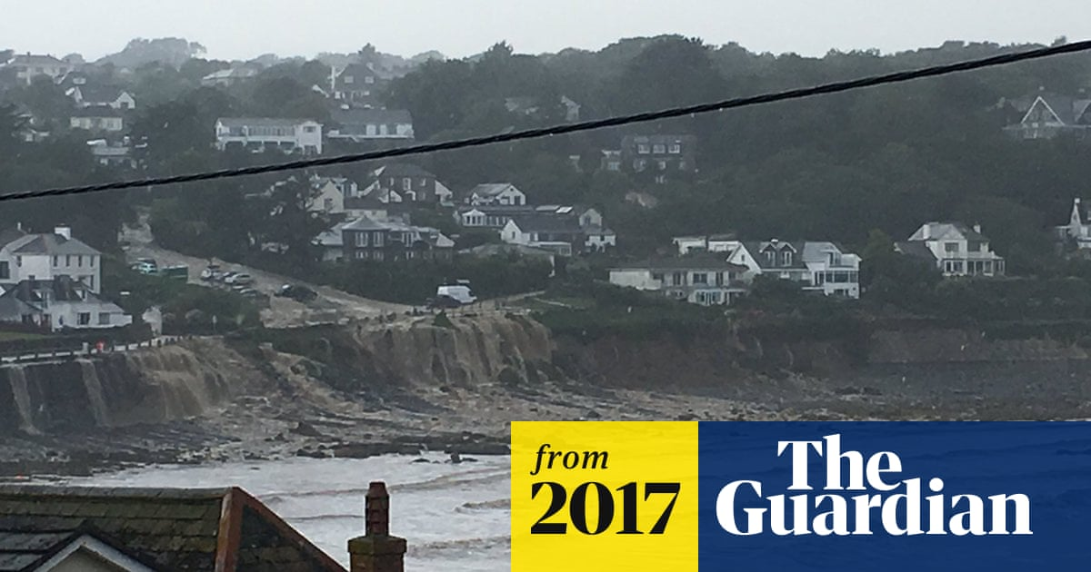 Homes evacuated as Cornwall hit by flash floods | UK news | The Guardian