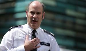 Met police commander Stuart Cundy