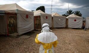 Ebola treatment centre in Beni