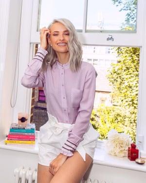 Victoria Magrath, a social media fashion influencer.