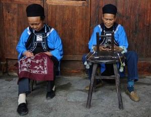 Women of the Buyi minority group