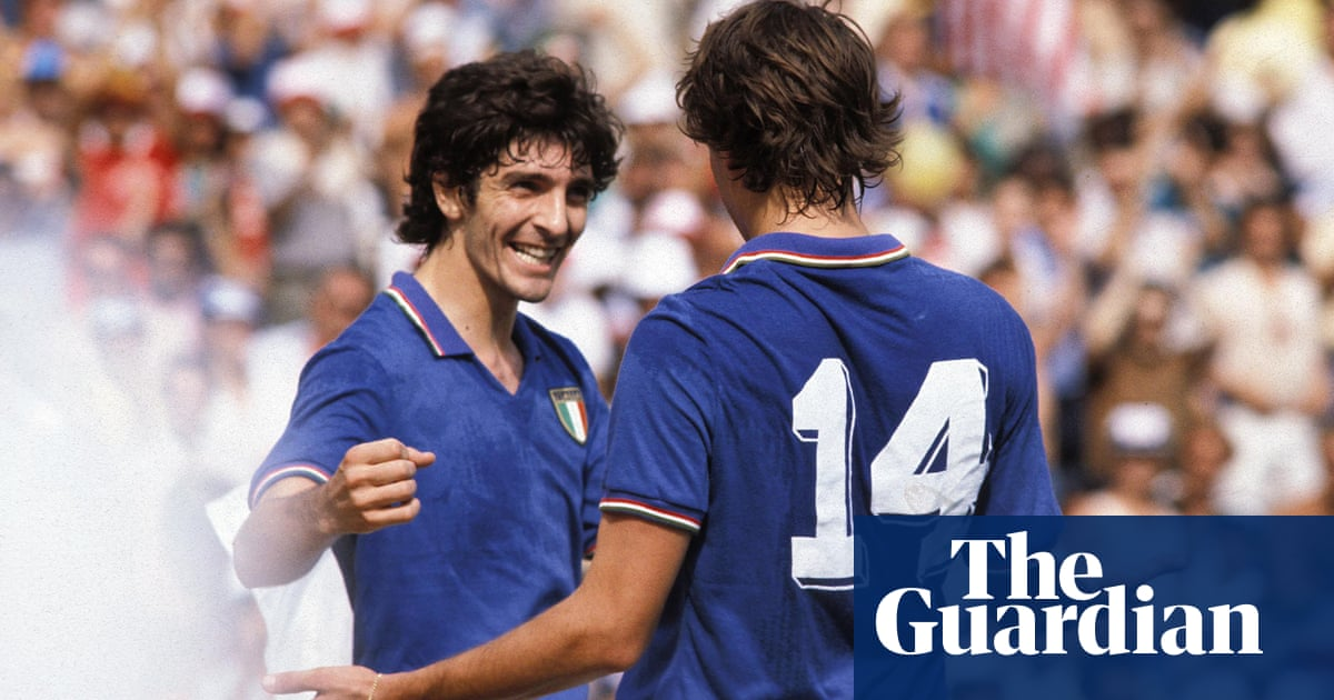 Paolo Rossi: Italys World Cup hero whose quick feet earned redemption | Nicky Bandini