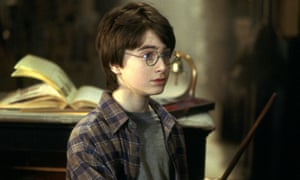 Daniel Radcliffe in the 2001 film version of Harry Potter and the Philosopher's Stone.
