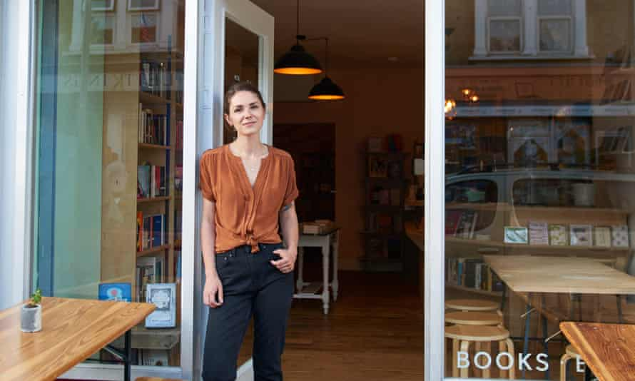 Aimée Madill, owner of Phlox Books in Leyton