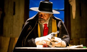 Pore form … Samuel L Jackson in the Hateful Eight.