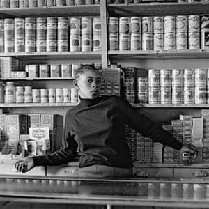 Shop assistant, Orlando West, Soweto, 1972 . Copyright: David Goldblatt