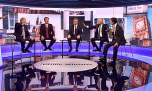 Conservative leadership candidates debate