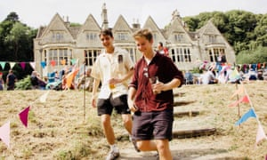 Two young men, Cotswold Beer Festival