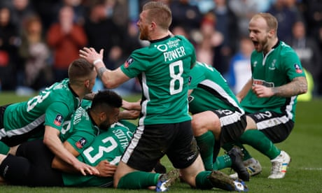 Lincoln City FA Cup hero Raggett: 'I'm lost for words, it's mad, I can't believe it'