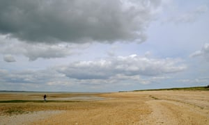 The beach at Bradwell-on-Sea