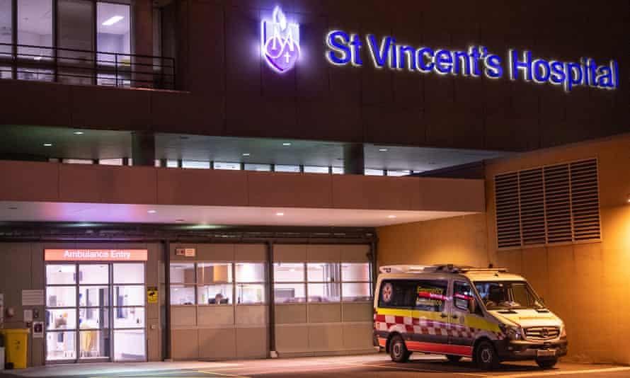 St Vincent's hospital in Sydney