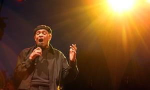 Al Jarreau performing at the Nice jazz festival, south of France, in 2010.