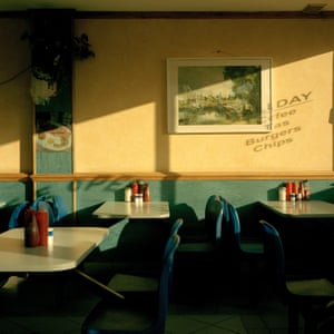 Summerstown - This is a lesser-known area in south-west London between Earlsfield, Tooting and Wimbledon. I had driven by this cafe hundreds of times and never really noticed it. However, late one wintery Sunday afternoon when the shadows were deep and long, it sprung out at me like an Edward Hopper painting