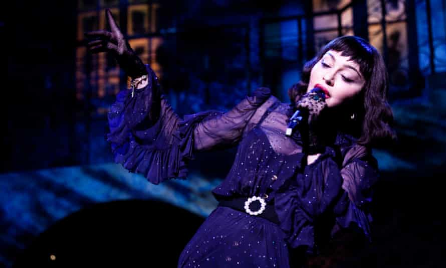 'Wilfully arty' … Madonna performs on the Madame X tour in 2019.