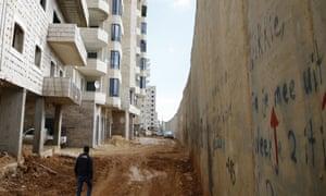 A development in Kafr Aqab