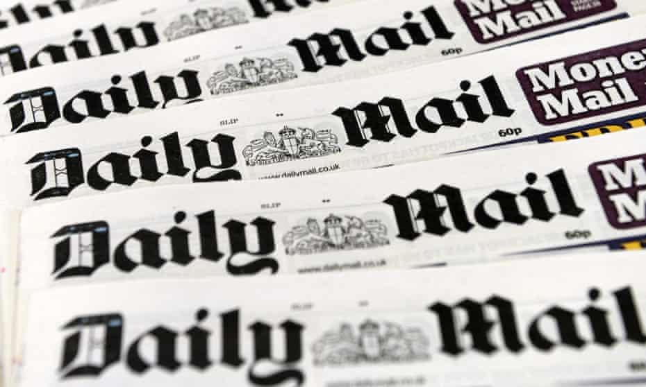 Daily Mail mastheads
