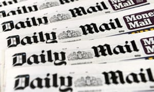 Advertising revenue has slipped at the Daily Mail and its sister paper, the Mail on Sunday