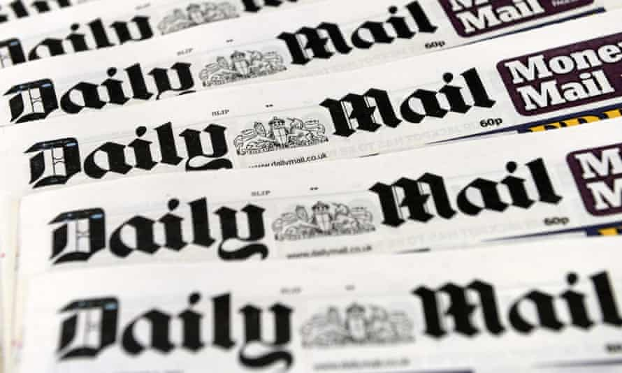 Copies of the Daily Mail