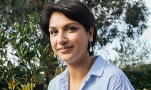British scientist and author Angela Saini