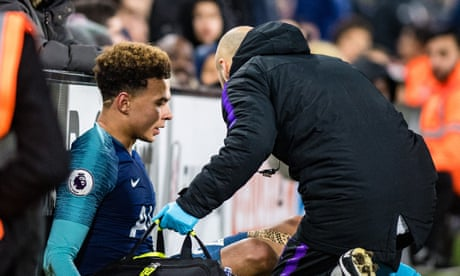 Spurs' injury woe grows as Dele Alli hurts hamstring at Fulham