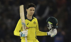 Peter Handscomb will make his first World Cup appearance in the middle order on Thursday.