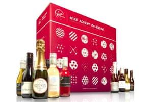 Virgin wine calendar, virginwines.co.uk