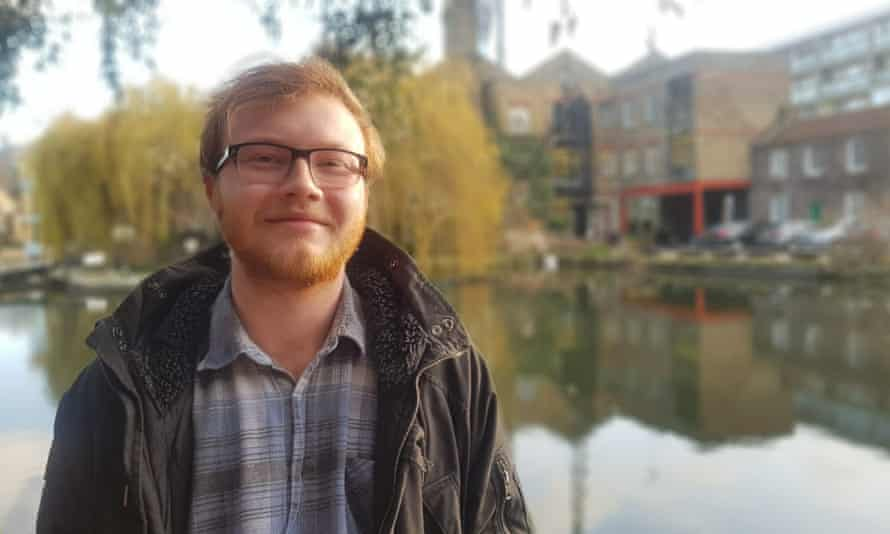 George Stanbury is a languages graduate who is autistic.