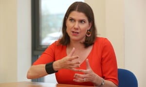Jo Swinson visiting Bournemouth college this morning.