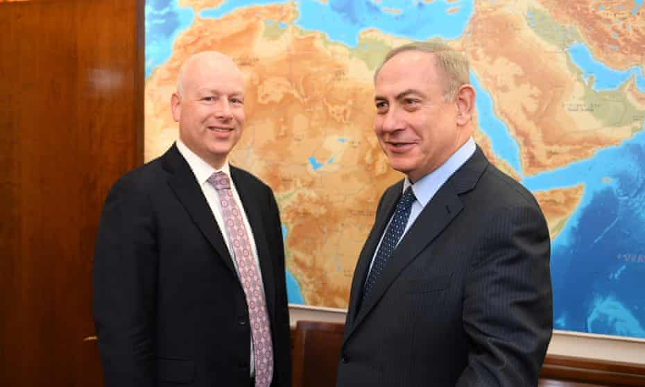 Jason Greenblatt, the US special envoy for Middle East peace, will leave his post.