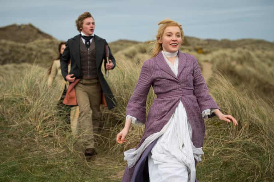 Ben Hardy and Olivia Vinall in The Woman in White