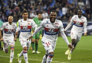 Lyon forward Alexandre Lacazette had another season to remember in Ligue 1.