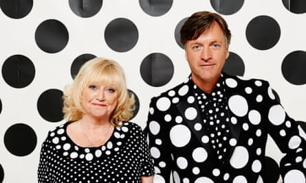 Richard and Judy … not 'proper friends' with the Blairs.
