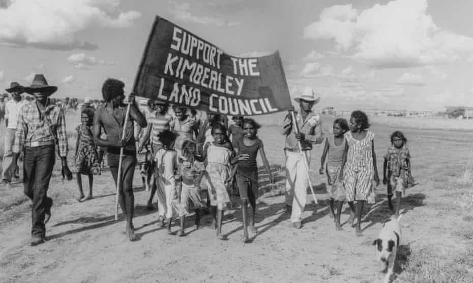 The original Noonkanbah march in 1978