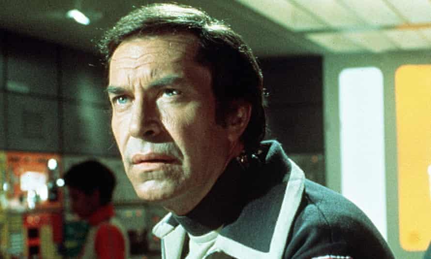 Martin Landau in the British TV series Space: 1999.