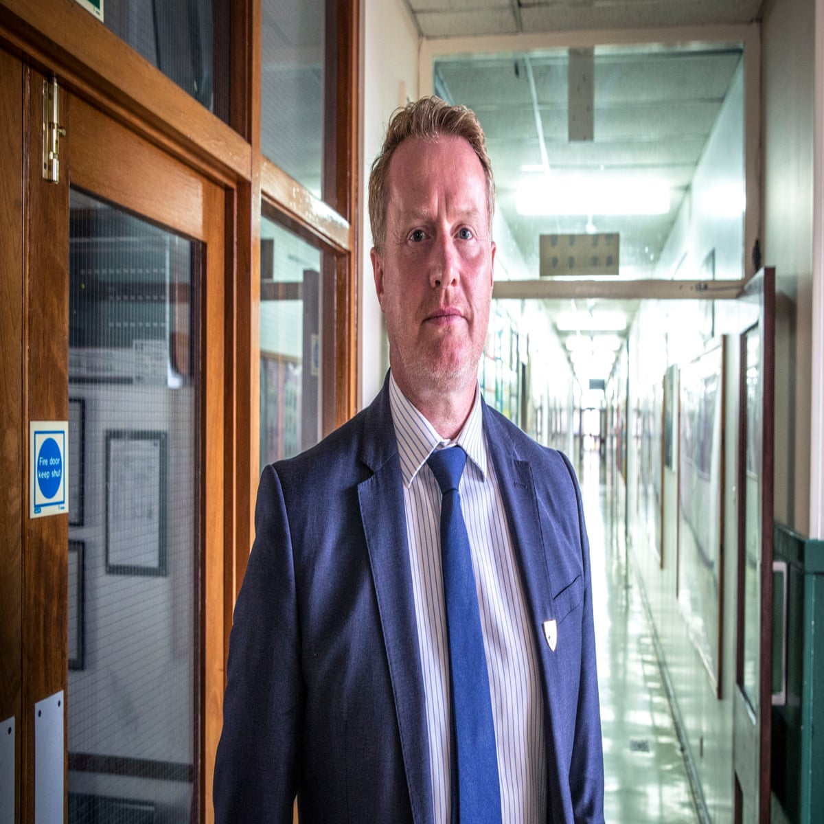BBC headteacher tells of outpouring of sympathy after he resigned on TV