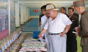 Kim Jong-un visits Samchon catfish farm in South Hwanghae province, North Korea