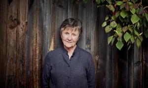 Australian author Helen Garner