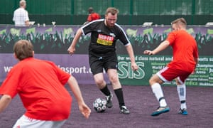 Players in the MAN v FAT league