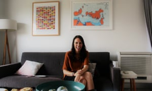 Jacinda Ardern at her home in Point Chevalier, Auckland, New Zealand.