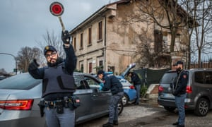 Roadblocks in Milan