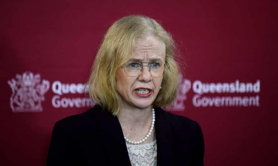 Queensland Chief Health officer Dr Jeanette Young