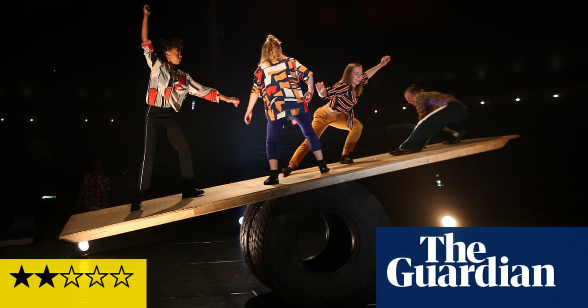The Revel Puck Circus review – down-to-earth acrobatics lack dramatic edge